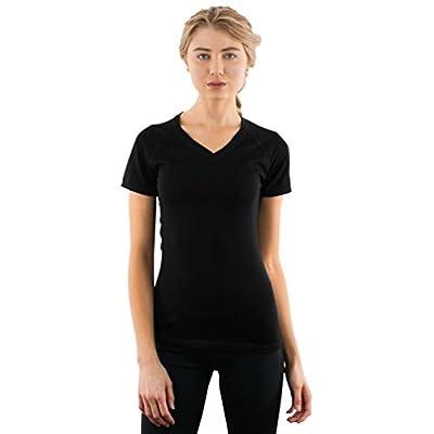 Woolx Mia Tee - Merino Wool T-Shirt - Lightweight - Wicks Moisture - No Itch