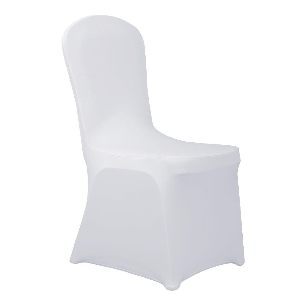 HAORUI Conjunto de Cubiertas Spandex Stretch Lycra Chair de 4 Modernas Fundas de poliéster Lycra Silla