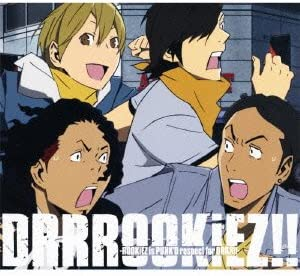 DRRROOKiEZ!!-ROOKiEZ is PUNK'D respect for DRRR!!-(期間生産限定盤)(DVD付) CD+DVD, 限定版