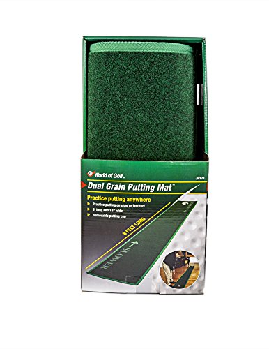 JEF WORLD OF GOLF 8-Foot Long 14'' Wide Putting Mat by JEF WORLD OF GOLF (Image #4)