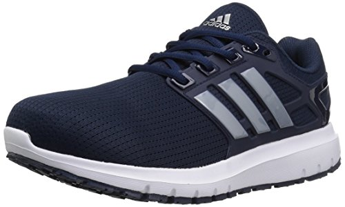 adidas Performance Herren Energy Cloud Wide m Laufschuh Collegiate Navy / Silber Metallic / Schwarz