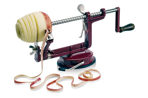 Paderno World Cuisine Apple Peeler with Suction Cup by Paderno World Cuisine
