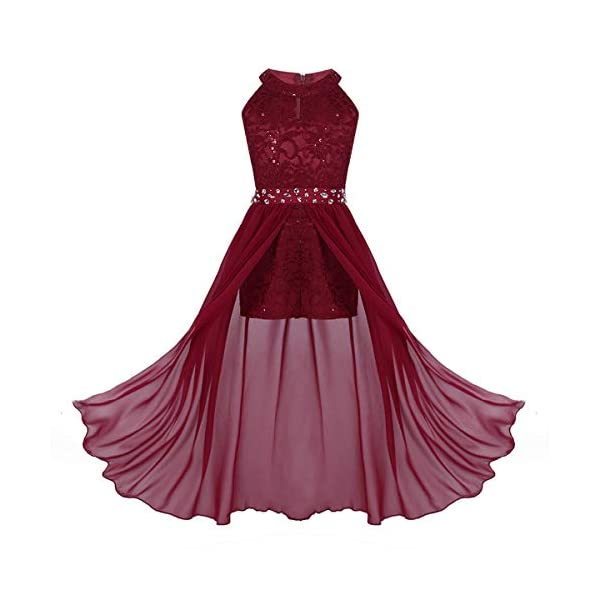 Round High Neck Prom Dress