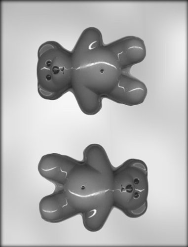 CK Products 4-1/2-Inch Teddy Bear Chocolate Mold