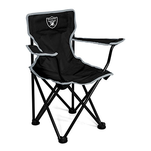 (Logo Brands NFL Oakland Raiders Toddler Chair, One Size, Charcoal)