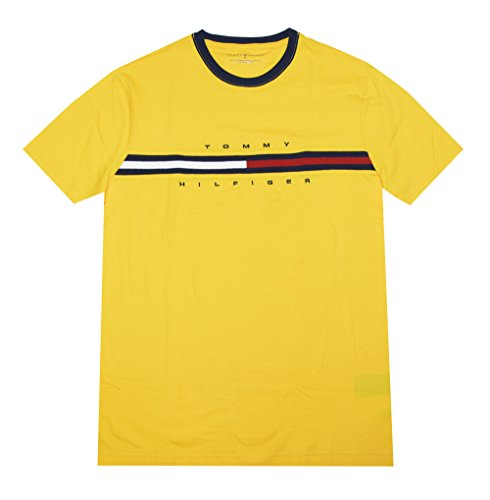 4d7dba36 Tommy Hilfiger Men Classic Fit Big Logo T-Shirt (L/G, Sun yellow) - Buy  Online in UAE. | Apparel Products in the UAE - See Prices, Reviews and Free  Delivery ...