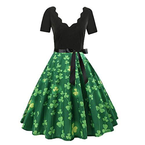 Dress Minivestido Ropa Party En 2019 Mangas Vintage De Rockabilly Casual Verano Mujer Fiesta Falda Verde Ashop Llamarada Vestidos Oferta BpwTxad