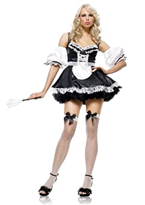 Leg Avenue Women's Sexy French Maid Dress