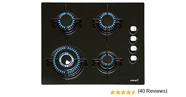 PLACAS CRISTAL GAS Cata CI 631 BK (N) 08041412: 129.76: Amazon.es: Grandes electrodomésticos