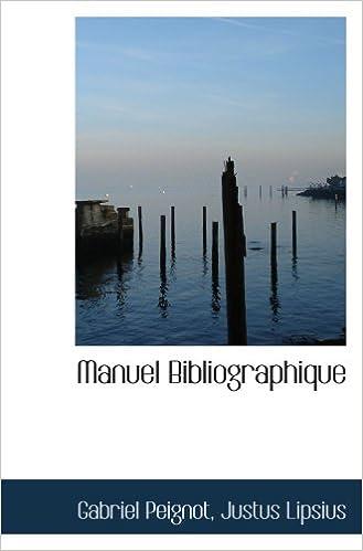 Manuel Bibliographique