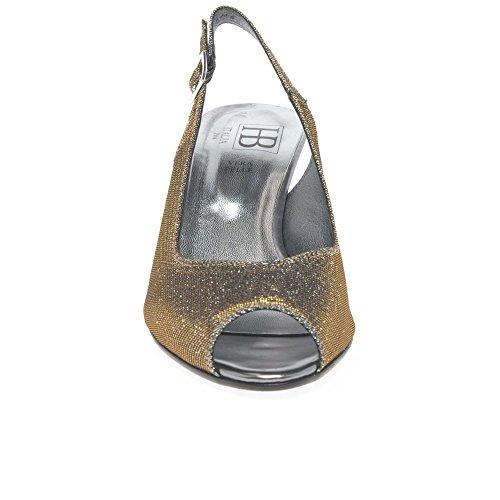 Sandales Womens Robe Metallic Scintillement Sparkle HB Bx6ztOwqc