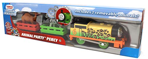 - Thomas & Friends Fisher-Price Trackmaster, Animal Party Percy