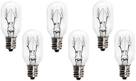 15 Watt Perfect For Any Salt Lamp Replacement Bulbs for Himalayan Salt Lamps