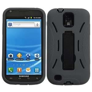 Viesrod MYBAT ASAMT989HPCSYMS006NP Symbiosis Dual Layer Protective Hybrid Case with Kickstand for Samsung Galaxy S II/...