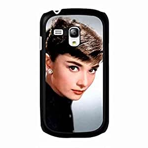 Samsung Galaxy S3 mini Case Back,Samsung Galaxy S3 mini Durrable Case Cover,Audrey Hepburn Classical Beautiful funda