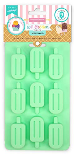 Handstand Kitchen Silicone Classic Ice Pop Shaped Candy and Ice Mold