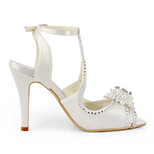 Pour 8cm Minitoo Beige Escarpins Femme 38 Heel Ivory ZpSwqO8nxg