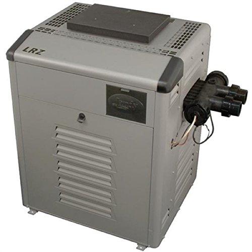 (Zodiac Legacy LRZ250ENN Digital Control 250K BTU Natural Gas Polymer Heater Header with Cupro-Nickel Tubes)