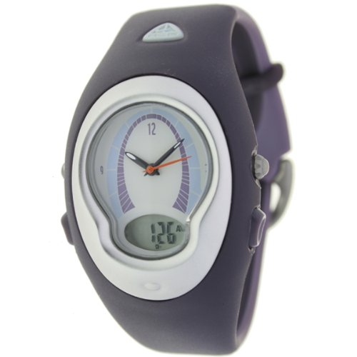 Nike wa0001501 - Reloj de pulsera, correa de caucho color morado: Amazon.es: Relojes