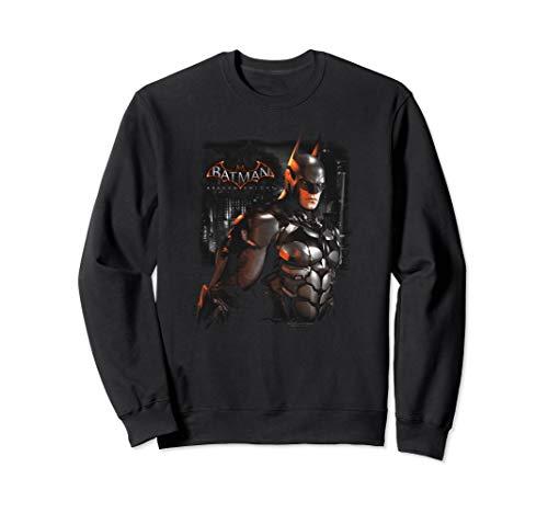 Batman: Arkham Knight Dark Knight Sweatshirt (Batman Arkham Knight Action Figures Release Date)
