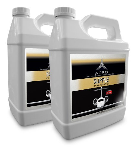 Aero 5794-2 Supple Leather and Vinyl Conditioner - 1 Gallon, (Pack of 2) by Aero