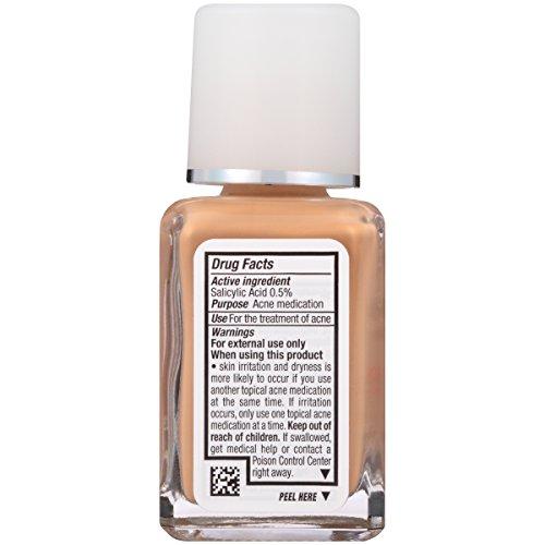 Neutrogena Skinclearing Makeup, 105 Caramel, 1 Fl. Oz.