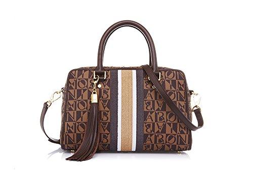 bonia-womans-brown-renaissance-satchel-m