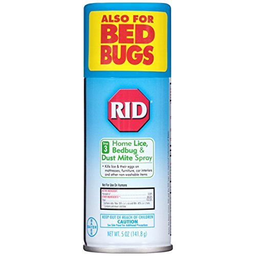 Rid Home Lice Control Spray, Lice Control System, 5 Ounces - Buy Packs and SAVE (Pack of 3) by Rid
