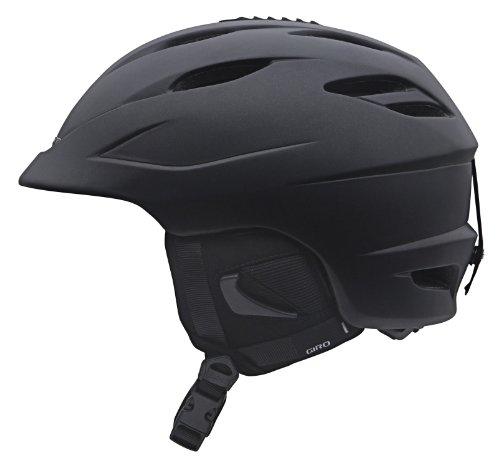 Giro Seam Snow Helmet (Matte Black, Large), Outdoor Stuffs
