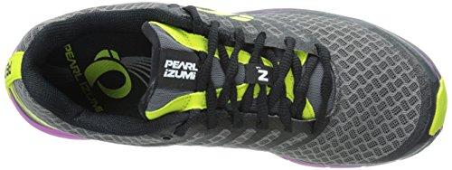 Pearl Izumi Womens Em Trail N1 V2 Trail Hardloopschoen Shadow Grey / Meadow Mauve