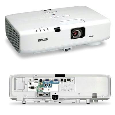 New - PowerLite D6155W Projector by Epson America - V11H396020 (Certified Refurbished)