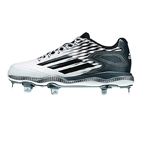 Adidas Performance Dames Poweralley 3 W Softbal Cleat Wit-zwart-carbon Met