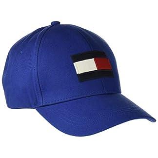 Tommy Hilfiger Herren Big Flag Baseball Cap, Blau (Monaco Blue 411), One Size (Herstellergröße: OS) 1