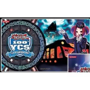 4KIDS Toy / Game Wonderful Yugioh Tour Bus Guide 100th Ycs Official Championship Playmat Play Mat