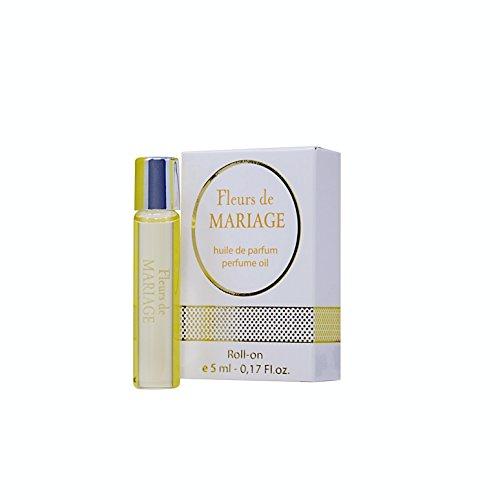 Fleurs de MARIAGE Perfume Oil for Women - 5 ml Miniature Rollerball - Retail price: $ 15.00 + Best Wedding Gift Idea + Fragrance of Celebration
