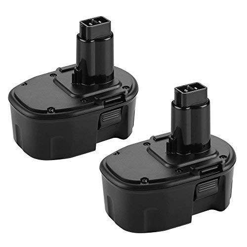 Replace for Dewalt 14.4V Battery 3.6Ah XRP DC9091 DW9091 DW9094 DE9091 DE9092 DE9038 DE9094 DE9502 14.4 Volt Ni-Mh Cordless Power Tool Battery-(2Pack)