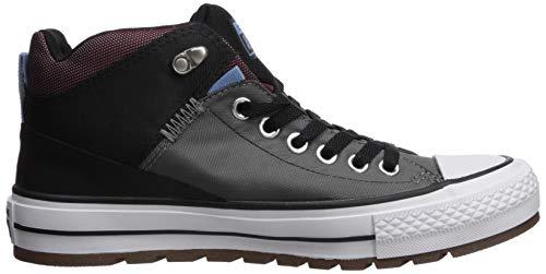 Street Burgundy Ginnastica Taylor Boot Converse Chuck Bambini Unisex Da dark Multicolore 048 – mason Ctas Hi black Scarpe Basse TnStw8x