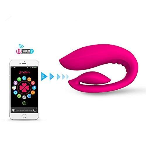 VKSJD Tshirt Good Vibrations New Smartphone App Remote Control Recharge Vibrat-ors G Spot Clitoris Stimulator Adult S-ex to-ys for Couples S-ex Machine by VKSJD Tshirt (Image #7)