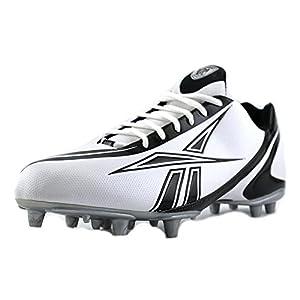 Reebok Pro Burner Speed Low M3 Men's Football Shoes Size US 13, Regular Width, Color Black/White