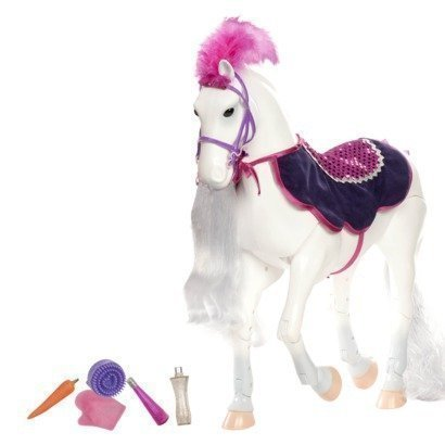 Our Generation Poseable Andalusian Horse by Our Generation