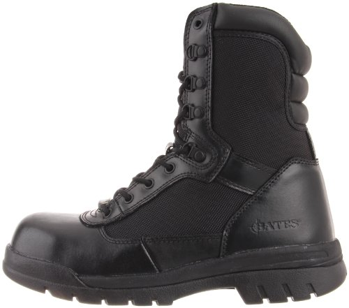 Bates Men's Safety Enforcer 8 Inch L N Steel Toe Uniform Work Oxford, Black, 15 M US