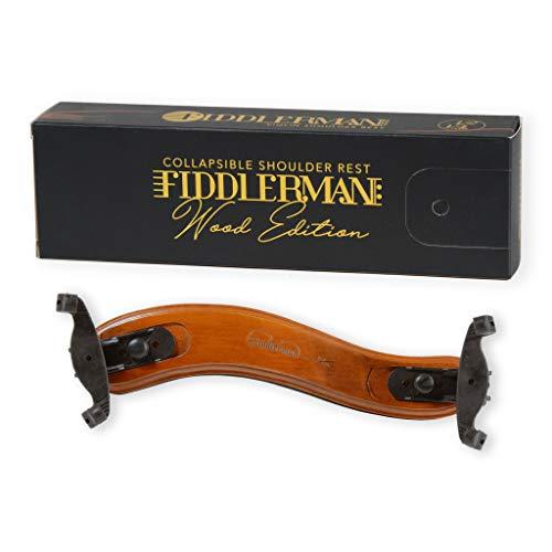 Fiddlerman Wood Violin Shoulder Rest for 4/4 and 3/4 with