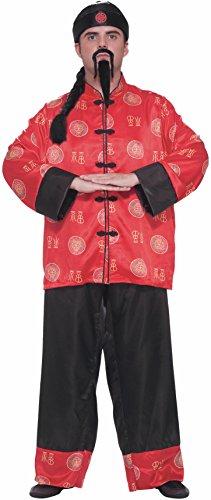English Gentleman Halloween Costumes - Forum Novelties Men's Chinese Gentleman Costume,