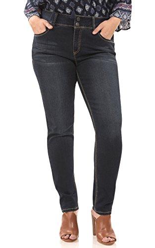 (Angels Jeans Women's Plus Size Curvy Skinny Jeans, Victoria)