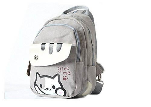 Japanese Game Neko Atsume Chest Bag Backpack Schoolbag