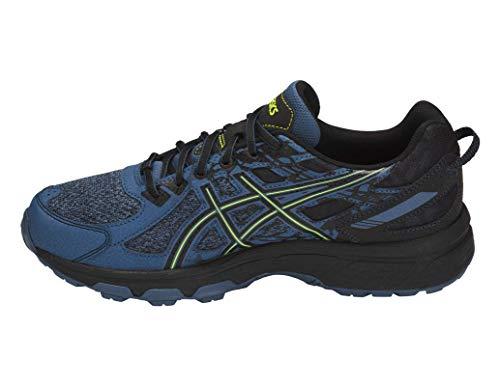 ASICS Gel-Venture 6 MX Men's Running Shoe, Grand Shark/Neon Lime, 7 M US by ASICS (Image #2)