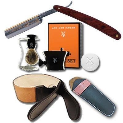 DOVO Forestal 5/8 Cocobolo Straight Razor Luxury Shave Set
