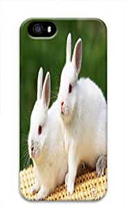 Cute Animals PC White Case For Iphone5 - Hey