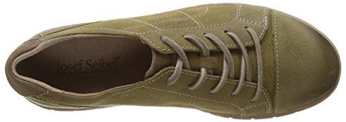 para Josef Olive de 41 Derby Steffi Cordones Zapatos Seibel Mujer Combi Verde 869631 Or0qO