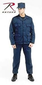 Rothco Bdu Pant Navy Blue P/C - Longs, Small